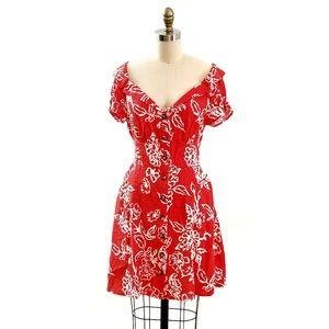 Free People // Romantic 90's Mini Dress